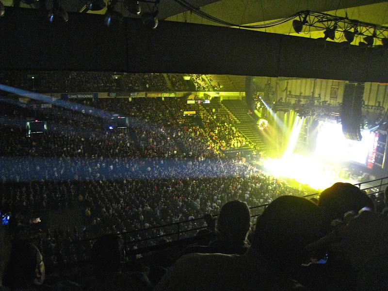 Rush Time Machine at Baltimore Arena