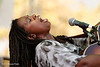 Ruthie Foster at Metro Fountain Blues : Ruthie Foster blew away the Metro Fountain Blues Festival on July 14, 2012 in San Jose.  If you are an artist and want any of these photos cleaned up for your use, I am happy to do it - no charge. All photos are free for artists - just hit the download button.