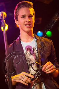 WEST HOLLYWOOD, CA - SEPTEMBER 02:  Singer Ryan Beatty performs at The Roxy Theatre on September 2, 2012 in West Hollywood, California.  (Photo by Chelsea Lauren/WireImage)