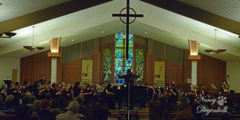 Foothill Communtiy Concert November 7, 2014
