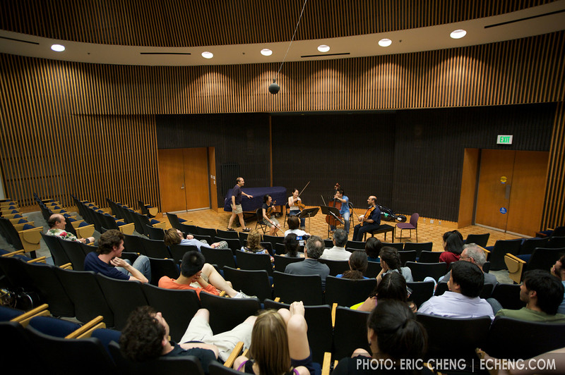 Monday masterclass in Campbell Recital Hall