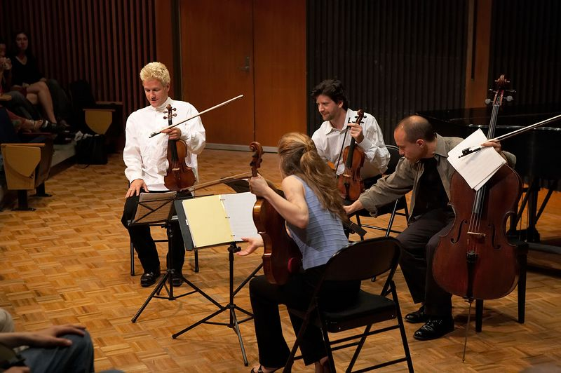 The St. Lawrence String Quartet performs Haydn