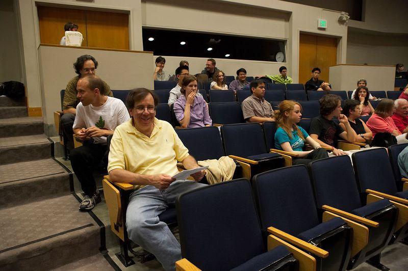 Masterclass audience