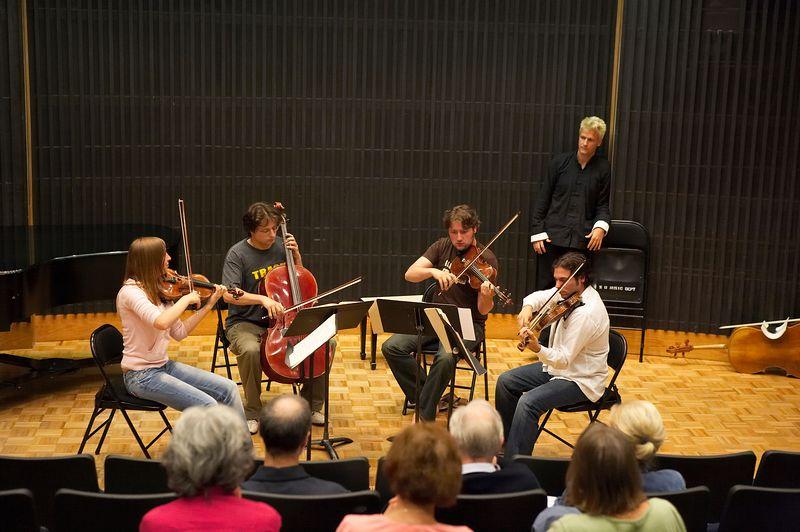 Masterclass: Matangi Quartet, from Holland