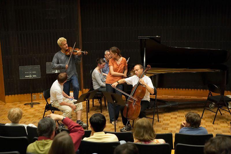 Masterclass: St. Petersburg Piano Trio, from Russia