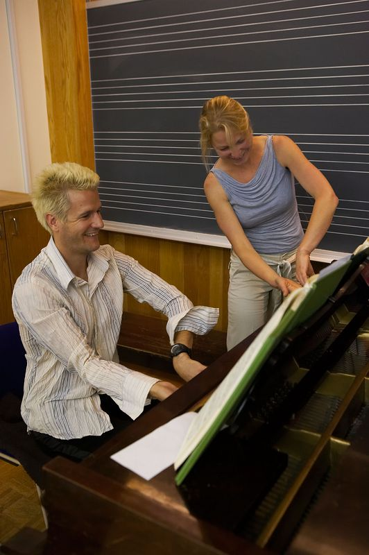Coaching with pianist Geoff Nuttall