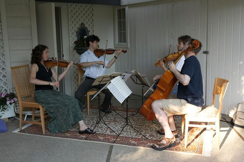 Tokai quartet plays Haydn