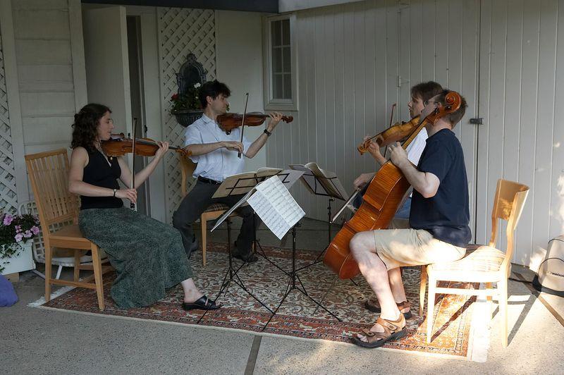 Tokai quartet plays Haydn