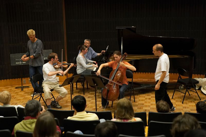 Masterclass: St. Petersburg Piano Trio, from Russia
