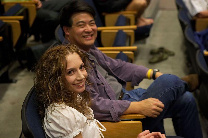 Warren Wu and Caroline Cloutier