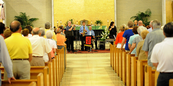ST. MARY OF MT. CARMEL PARISH , HAMMONTON NJ. ATLANTIC CITY JAZZ BAND 07/14/13