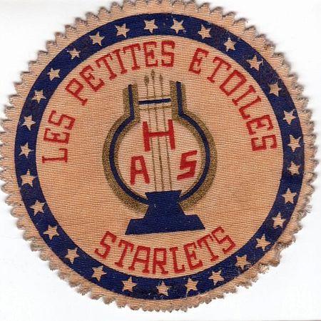 BLASON DE L'ORCHESTRE: STARLETS ou/et LES PETITES ÉTOILES
