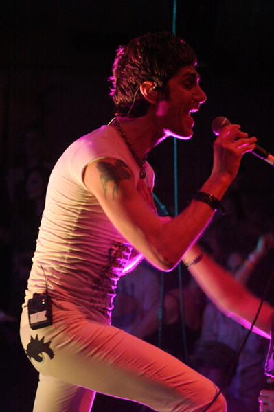 Perry Farrell plays Pangaea in Austin for the SXSW 2008 Music Festival