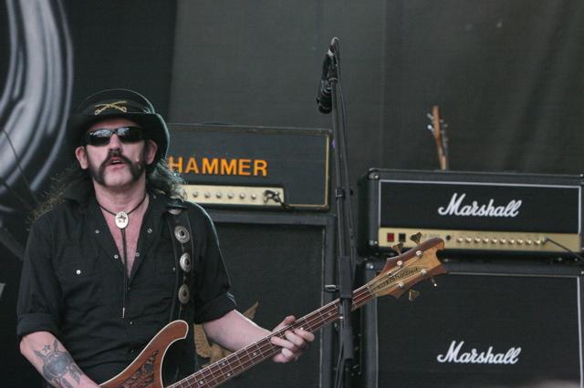 Lemmy Kilmister of the band Motorhead at Stubbs in Austin TX for SXSW 2008