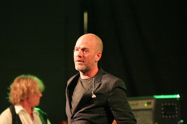 Michael Stipe REM playing SXSW 2008 Stubbs in Austin TX