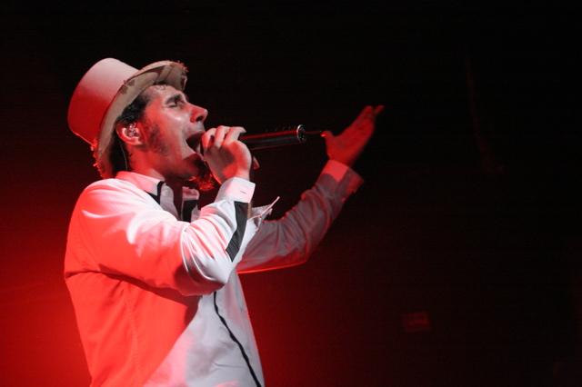 Serj Tankian on Thursday March 14 at La Zona Rosa in Austin Texas for SXSW 2008