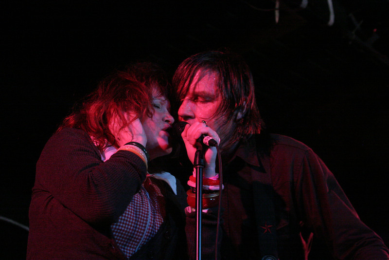 The band X at Emos SXSW 2008