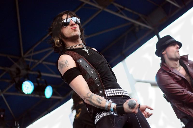 Chad Cherry. The Last Vegas @ Texas Rockfest on 3/17/10.