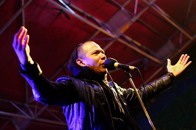 Danko Jones @ Texas Rockfest on 3/20/10.