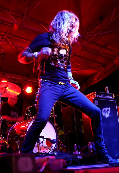 Jason McMaster. Broken Teeth @ Texas Rockfest on 3/18/10.
