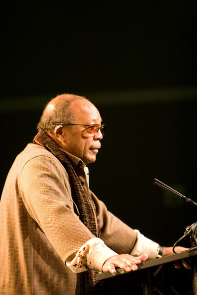 Quincy Jones gives the Keynote address for SXSW Music 2009.