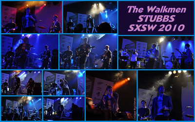 SXSW 2010 / Thanks to Ihor Gowda who recommended that I just 'camp out' and shoot all the Bands at Stubbs on St Patrick's Day, my free nite as a SXSW Photographer.  I did and was he ever so right!  The Walkmen put on quite a Show and the night was starting to get even MORE Rocking with Sharon Jones following and Spoon closing it out....