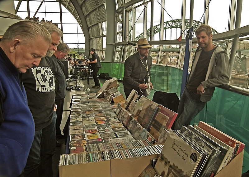 Record shops will never die!