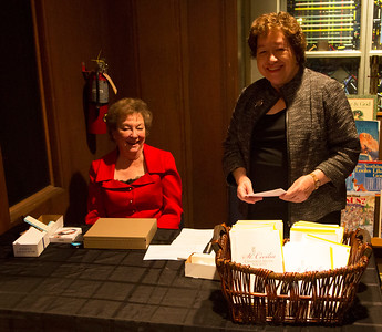 Welcome to the concert.  Saralu Burrowes and Jan Hewitt have our ticket