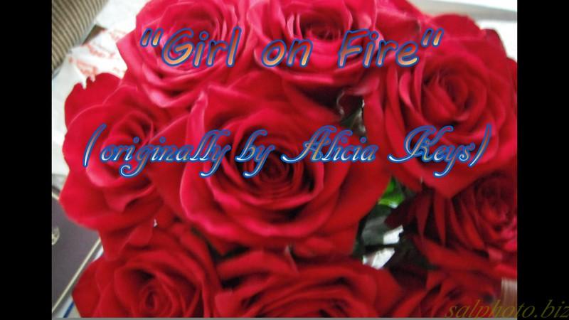 "Music: Karaoke-""Girl on Fire"" (originally by Alicia Keys) by Crazy lil' Sal<br /> <a href=""https://youtu.be/Qiq36VnU_Sw"">https://youtu.be/Qiq36VnU_Sw</a><br /> <br /> <a href=""https://www.instagram.com/creativemusicartsy/"">https://www.instagram.com/creativemusicartsy/</a><br /> <br /> <br /> <a href=""https://creativemusicartsy.wordpress.com/2018/02/25/music-karaoke-girl-on-fire-originally-by-alicia-keys-by-crazy-lil-sal/"">https://creativemusicartsy.wordpress.com/2018/02/25/music-karaoke-girl-on-fire-originally-by-alicia-keys-by-crazy-lil-sal/</a><br /> <br /> <a href=""https://salphotobiz.smugmug.com/Flowers/Various-Flowers/i-SVRQZKF"">https://salphotobiz.smugmug.com/Flowers/Various-Flowers/i-SVRQZKF</a>"