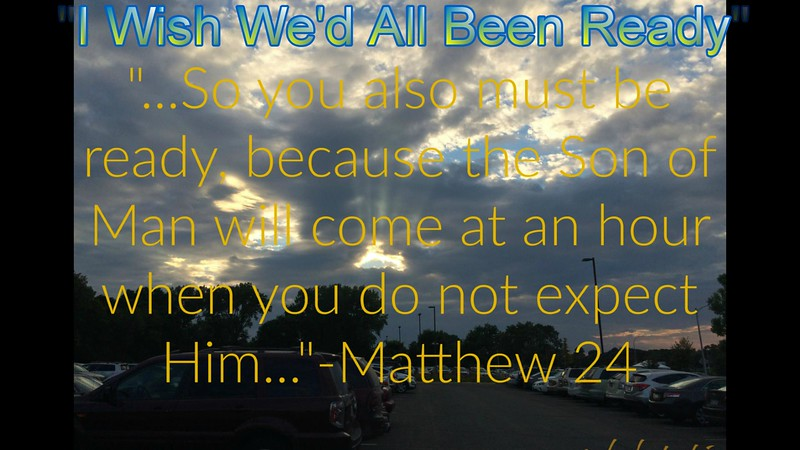 "Karaoke-""Wish We'd All Been Ready"" (orginally by Larry Norman) by Crazy lil' Sal<br /> <a href=""https://youtu.be/CXo5Q0_MExg"">https://youtu.be/CXo5Q0_MExg</a><br /> <br /> <a href=""https://creativemusicartsy.wordpress.com/2018/03/11/music-karaoke-wish-wed-all-been-ready-orginally-by-larry-norman-by-crazy-lil-sal/"">https://creativemusicartsy.wordpress.com/2018/03/11/music-karaoke-wish-wed-all-been-ready-orginally-by-larry-norman-by-crazy-lil-sal/</a><br /> <br /> <a href=""https://www.instagram.com/p/BgXn5Q5nIwR/?taken-by=creativemusicartsy"">https://www.instagram.com/p/BgXn5Q5nIwR/?taken-by=creativemusicartsy</a><br /> or<br /> <a href=""https://www.instagram.com/creativemusicartsy/"">https://www.instagram.com/creativemusicartsy/</a><br /> <br /> <a href=""https://salphotobiz.smugmug.com/Weather/Day-Time-Sky/i-kLk29T6"">https://salphotobiz.smugmug.com/Weather/Day-Time-Sky/i-kLk29T6</a>"