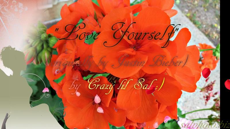 """Love Yourself"" (orignally by Justin Bieber) by Crazy lil' Sal (Karaoke version)<br /> <a href=""https://youtu.be/UZK-C_Q5KQM"">https://youtu.be/UZK-C_Q5KQM</a><br /> <br /> <a href=""https://creativemusicartsy.wordpress.com/2016/07/12/music-karaoke-love-yourself-originally-by-justin-bieber-by-crazy-lil-sal/"">https://creativemusicartsy.wordpress.com/2016/07/12/music-karaoke-love-yourself-originally-by-justin-bieber-by-crazy-lil-sal/</a><br /> <br /> <a href=""https://salphotobiz.smugmug.com/Flowers/Various-Flowers/i-XmcRvQj"">https://salphotobiz.smugmug.com/Flowers/Various-Flowers/i-XmcRvQj</a>"