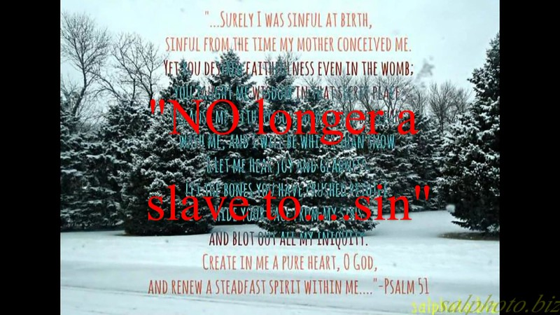 """NO longer a slave...to sin!""<br /> <a href=""https://youtu.be/N1qtIzan4Gw"">https://youtu.be/N1qtIzan4Gw</a><br /> <br /> <a href=""https://creativemusicartsy.wordpress.com/2016/05/03/music-parody-no-longer-a-slave-to-sin/"">https://creativemusicartsy.wordpress.com/2016/05/03/music-parody-no-longer-a-slave-to-sin/</a><br /> <br /> <a href=""https://www.facebook.com/SalPhotoVideography/photos/a.834081333273407.1073741938.443035202378024/1003307326350806/?type=3&theater"">https://www.facebook.com/SalPhotoVideography/photos/a.834081333273407.1073741938.443035202378024/1003307326350806/?type=3&theater</a><br /> <br /> <a href=""https://goodnewseverybodycom.wordpress.com/2016/05/16/deep-thought-what-causes-us-to-do-bad-sin-stuff/"">https://goodnewseverybodycom.wordpress.com/2016/05/16/deep-thought-what-causes-us-to-do-bad-sin-stuff/</a><br /> <br /> Good News Sin<br /> <a href=""https://www.facebook.com/groups/189301851255458/"">https://www.facebook.com/groups/189301851255458/</a>"