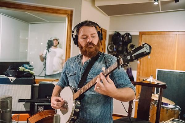 Salt and Pine - In the studio