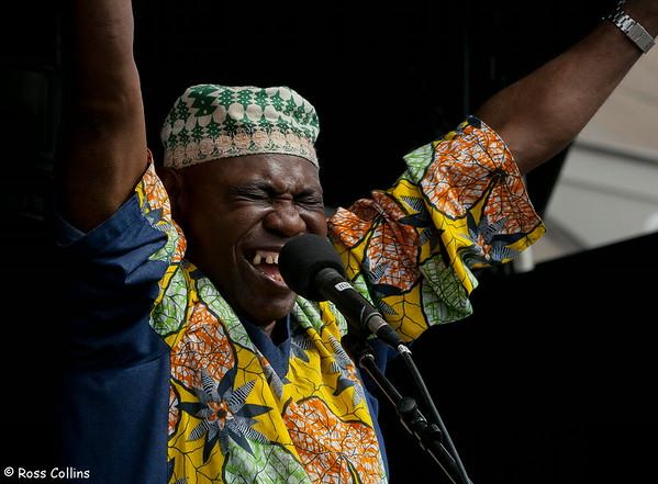 Sam Manzanza at the Newtown Fair 2013