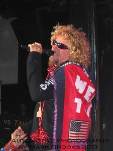 Sammy Hagar, grand opening of Tahoe Wabo 2004