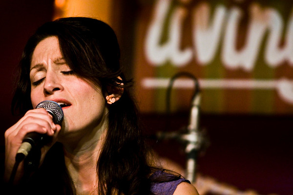 Sasha Dobson - The Living Room, NYC - March 31st, 2008 - Pic 4