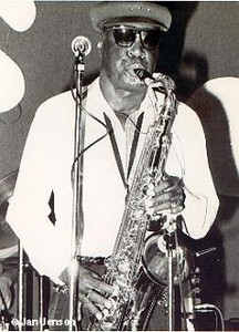 A.C. Reed at the old JJ's Blues Club in Mt. View, CA 1987