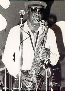 A.C. Reed at the old JJ's Blues Club in Mt. View, CA 1987