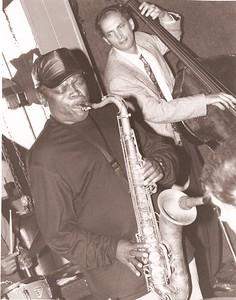 Harold Bennett on sax.