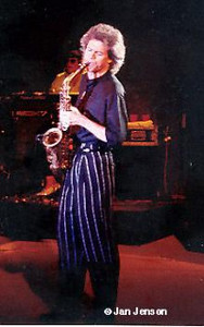 David Sanborn at Paul Masson Winery, San Jose, CA 1988