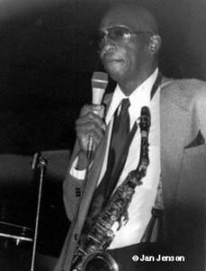 Curtis Paegler at club in San Jose, CA. 1987