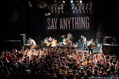 Say Anything perform on June 11, 2013 at State Theatre in St. Petersburg, Florida