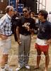 Najee back stage 1990