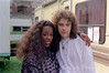 Tuck & Patti - Backstage Newport Jazz Festival August 1989
