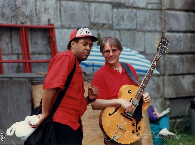 Jon Faddis and guitar, 1989