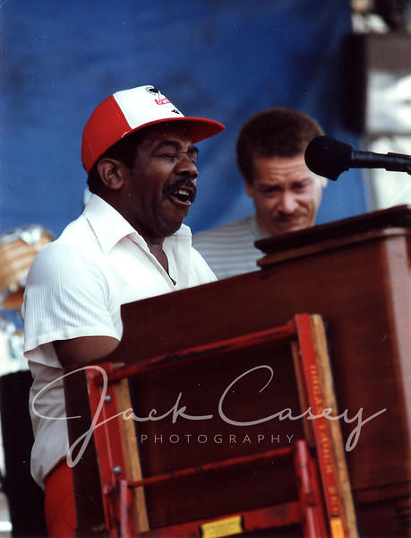 Jimmy Smith with John Lee, bass, 1989