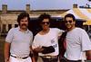Chick Corea and John Pattituci (with Jack Casey left) 1988