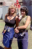 Ashley Cleveland with Shawn Colvin, August 1990