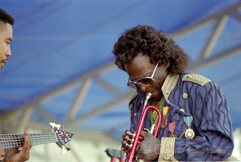14 - Miles Davis August 1990 (w/Richard Patterson, bass)