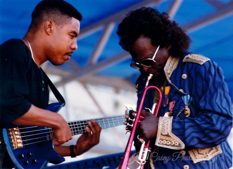 15 - Miles Davis August 1990 (w/Richard Patterson, bass)